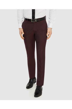 Tarocash Bailey Slim Pant - Pants (BURGUNDY) Bailey Slim Pant