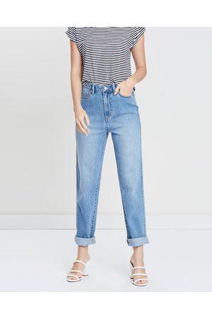 Lee Hi Mom Jeans - High-Waisted ( Sands) Hi Mom Jeans