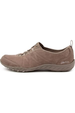 Skechers 100214 Breathe Easy S S Sk Taupe Sneakers Womens Shoes Active Active Sneakers