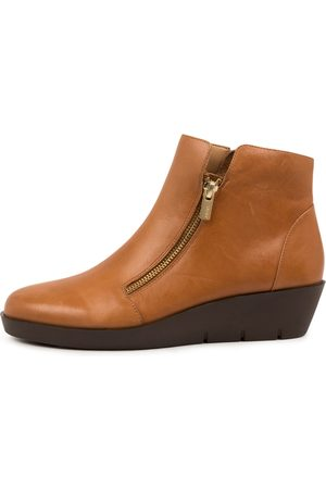 Ziera Bertha W Zr Tan Boots Womens Shoes Casual Ankle Boots