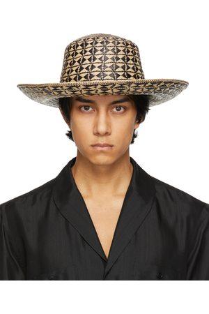 Saint Laurent & Straw Maui Hat