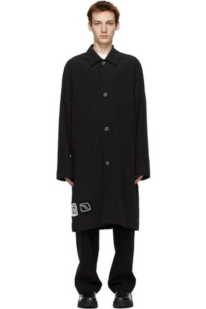 Men Trench Coats - Song for the Mute Bird Coach Trench Coat