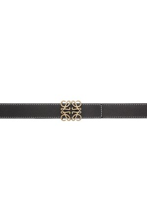 Loewe Contrast Stitch Anagram Belt