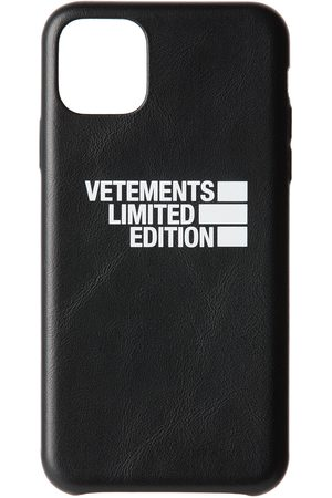 Phone Cases - VETEMENTS 'Limited Edition' Logo iPhone 11 Pro Max Case