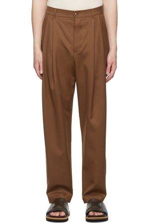 King & Tuckfield Tapered Pleat Trousers