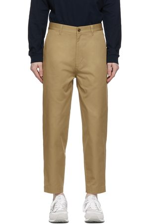 Men Chinos - Comme des Garçons Homme Tapered Chino Trousers