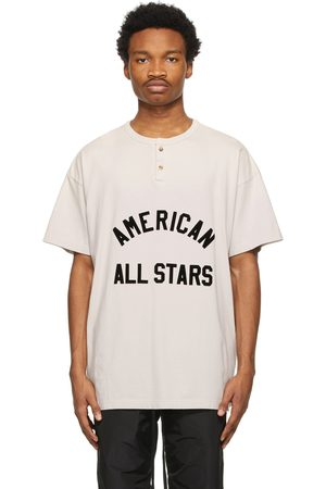 Fear of God Off- 'American All Stars' Short Sleeve Henley