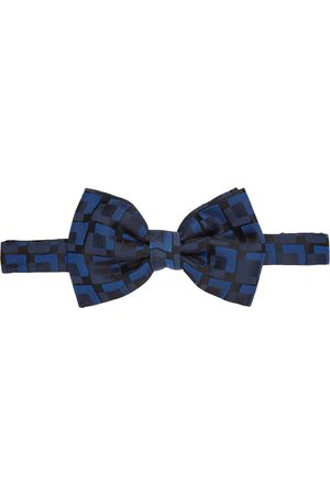 Dries Van Noten & Silk Squares Bow Tie