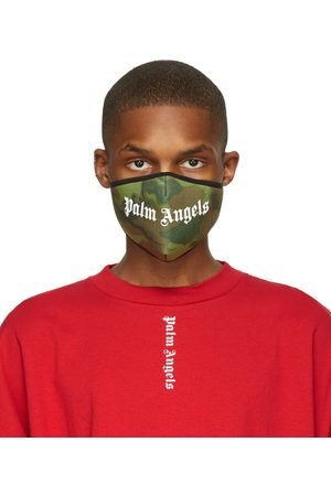 Palm Angels Camo Logo Mask
