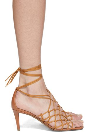 Stella McCartney Lace-Up Heeled Sandals