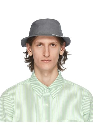 Thom Browne 4-Bar Classic Bucket Hat