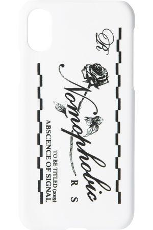 Raf Simons Logo iPhone X Case