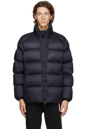 Moncler Navy Down Cevenne Puffer Jacket