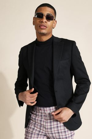 Boohoo Mens Skinny Fit Jersey Blazer