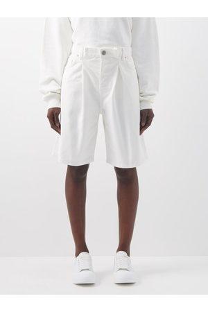 Raey Board Fold Denim Shorts - Womens