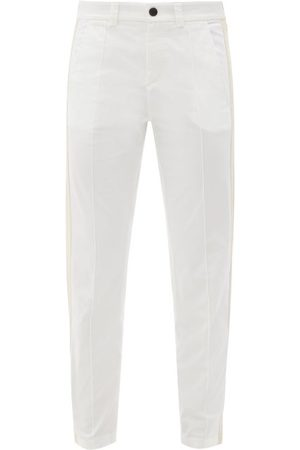 Bogner Eddi Side-stripe Cotton-blend Golf Trousers - Womens
