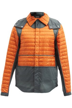 5 MONCLER CRAIG GREEN Chrysemys Quilted-panel Technical Overshirt - Mens
