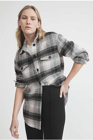 WITCHERY Women Shirts - Check Overshirt