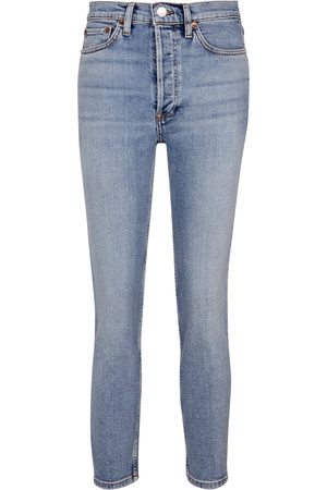 RE/DONE Women Boyfriend - High-rise slim jeans