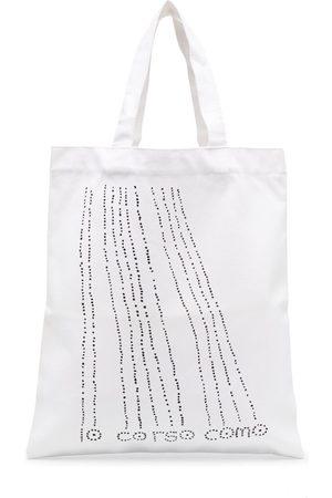 10 CORSO COMO Dots canvas tote bag