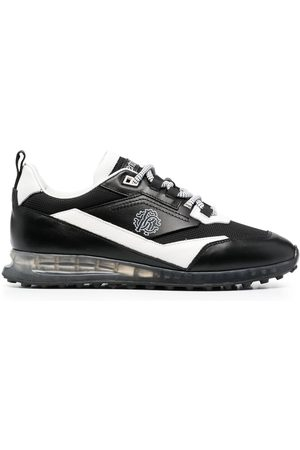 Roberto Cavalli Men Sneakers - Two-tone lace-up sneakers