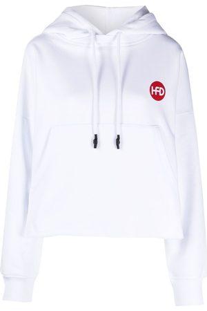 Honey Fucking Dijon Women Hoodies - Oversized logo-print hoodie