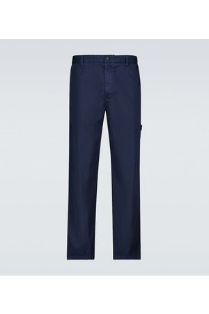 Moncler Genius 5 MONCLER CRAIG GREEN cotton chino pants