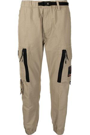 AAPE BY *A BATHING APE® Logo-patch cargo trousers