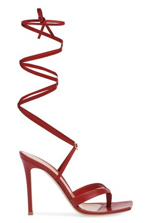Gianvito Rossi Women Heeled Sandals - Ribbon Gladiator sandals