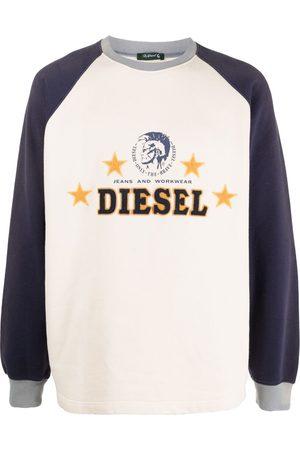 Diesel Men Sweatshirts - Logo embroidered sweatshirt