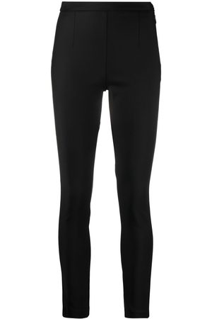 Patrizia Pepe Side-fastened cigarette trousers