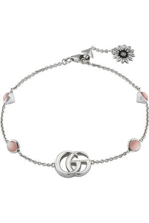 Gucci Men Bracelets - Double G flower bracelet