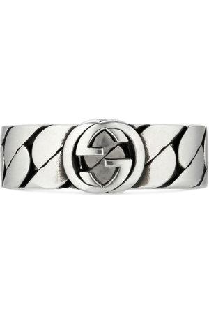 Gucci Men Rings - Interlocking G wide ring