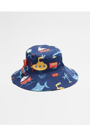 Penny Scallan Boys Hats - Bucket Hat - Hats (Anchors Away) Bucket Hat