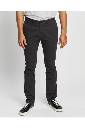 3 Wise Men Charlie Chinos - Pants (Charcoal) Charlie Chinos