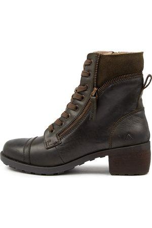 Colorado Denim Women Knee High Boots - Durango Cf Khaki Boots Womens Shoes Comfort Long Boots