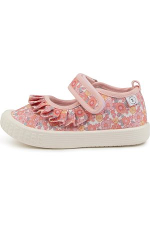 Walnut Melbourne Play Etc Mj Frill Tot Wa Happy Days Shoes Girls Shoes Casual Flat Shoes