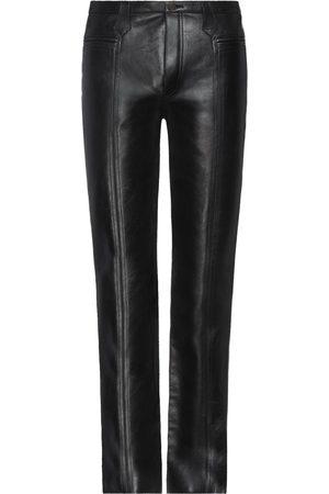 Saint Laurent Men Leather Pants - Casual pants