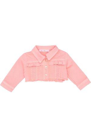 MISS BLUMARINE Girls Jeans - Denim outerwear