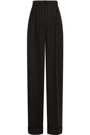 Dolce & Gabbana Women Formal Pants - Pinstripe straight-leg trousers