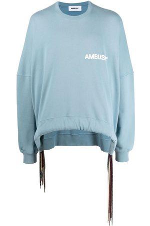 AMBUSH Men Sweatshirts - Drawstring cotton sweatshirt