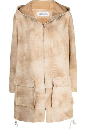 Sylvie Schimmel Zip-up suede jacket