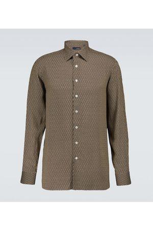 LARDINI Elangelo long-sleeved shirt