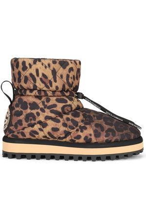 Dolce & Gabbana Men Boots - Leopard-print boots