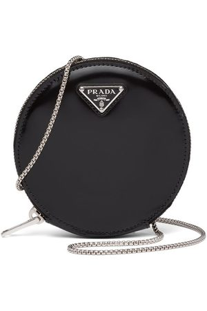 Prada Mini leather pouch bag
