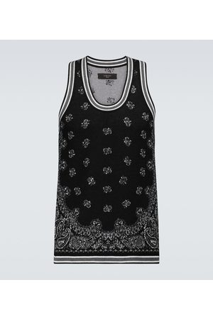 AMIRI Bandana Basketball tank top