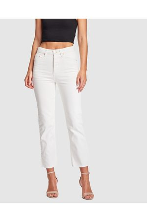 RES Denim True Straight Jeans - High-Waisted True Straight Jeans