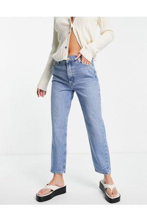 River Island Women Boyfriend - Blair straight cut jeans in buzzy blue