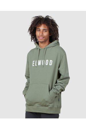 Elwood Men Hoodies - Mens Huff N Puff Hood - Hoodies (Army ) Mens Huff N Puff Hood