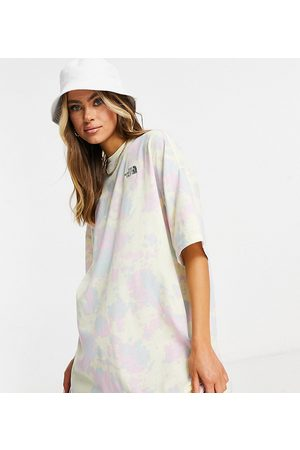 The North Face T-shirt dress in black Exclusive to ASOS-Multi